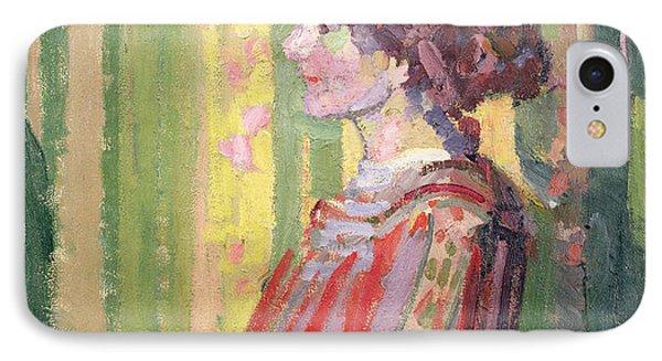 Mrs Robert Bevan IPhone Case by Harold Gilman