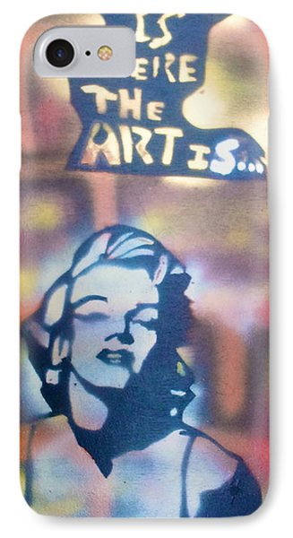 Ms.monroe Phone Case by Tony B Conscious