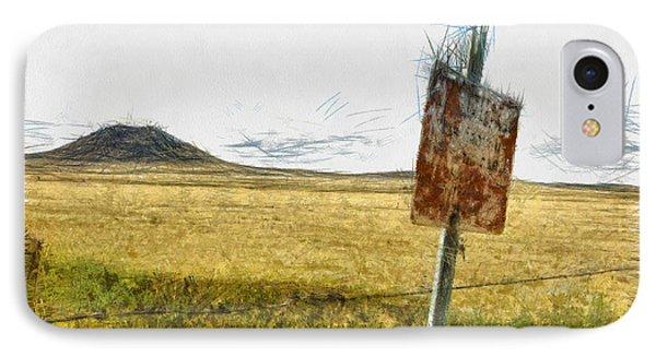 Mt Dora - Sketch Phone Case by Nicholas Evans