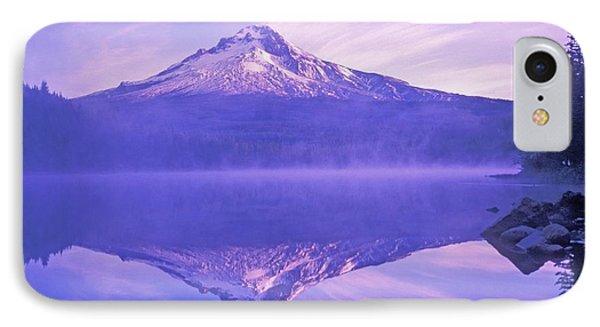 Mt. Hood And Trillium Lake Mt Hood Phone Case by Dan Sherwood