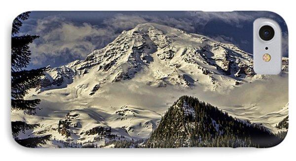 Mt Rainier Phone Case by Heather Applegate
