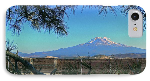 Mt Shasta At Weed  Phone Case by Pamela Patch