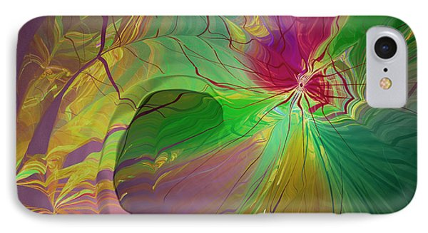 Multi Colored Rainbow Phone Case by Deborah Benoit