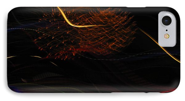 Multi Firework IPhone Case by Denise Keegan Frawley