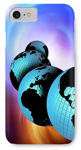Multiple Dimensions, Conceptual Artwork Phone Case by Victor Habbick Visions