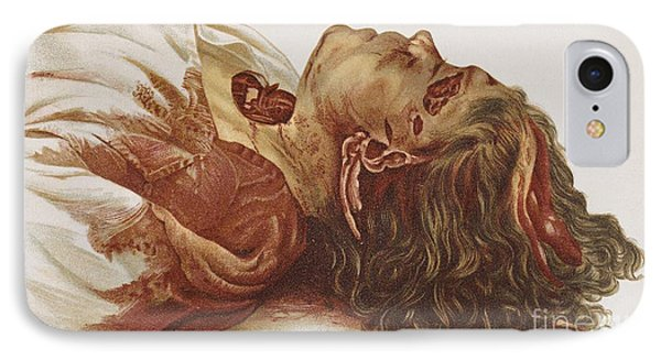 Murder Victim 1898 Phone Case by Science Source