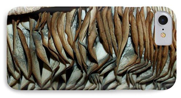 Mushroom Abstract IPhone Case by Karen Harrison