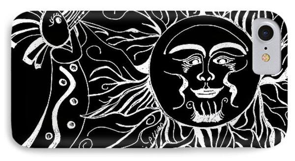 Musical Sunrise - Inverted Phone Case by Maria Urso