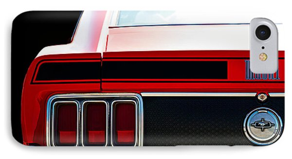Mustang Mach 1 IPhone Case by Douglas Pittman