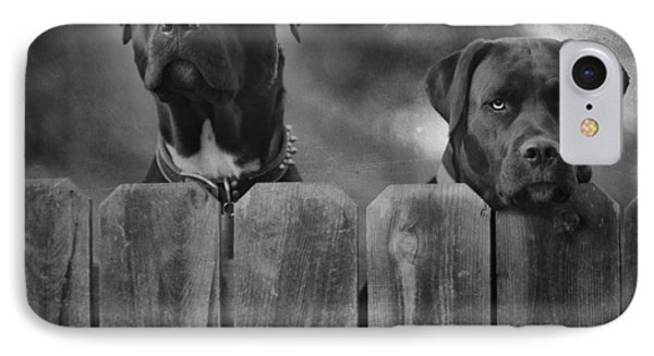Mutt And Jeff 2 IPhone Case by Larry Marshall