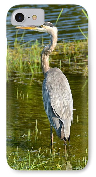 My Blue Heron II Phone Case by Carol  Bradley