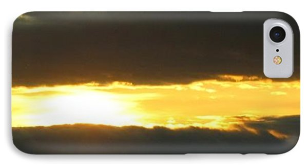 My Cloudy Sunset IPhone Case by Jyvonne Inman