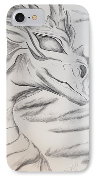 My Dragon Phone Case by Maria Urso