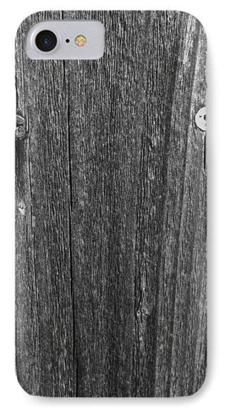 My Fence IPhone Case by Bill Owen