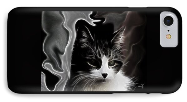 IPhone Case featuring the digital art My Girl - Memories Of Cika by Maciek Froncisz