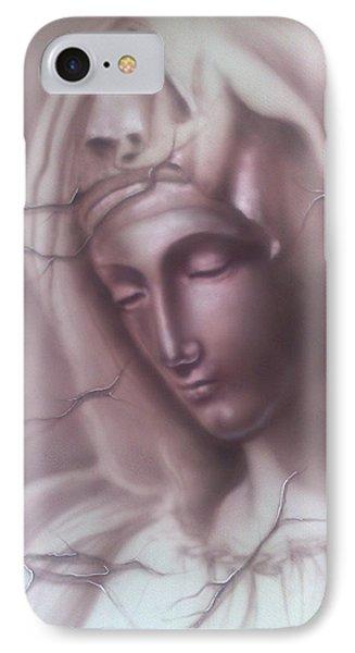My Mary IPhone Case by Dimitri Kartsaklis