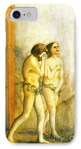 My Masaccio Expulsion Of Adam And Eve Phone Case by Jerome Stumphauzer
