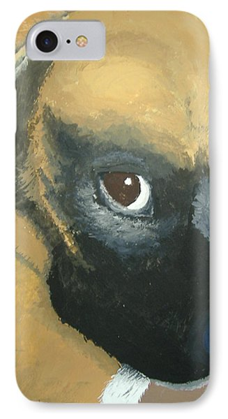 IPhone Case featuring the painting My Name Is Attitude by Norm Starks