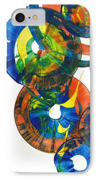 My Spherical Joy '' Jump Up ''  858.121711 IPhone Case by Kris Haas