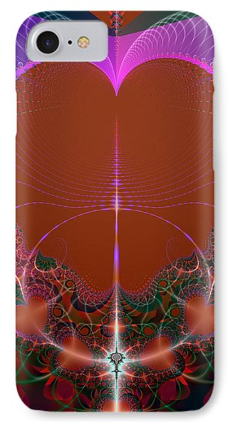 IPhone Case featuring the digital art My Valentine by Ester  Rogers