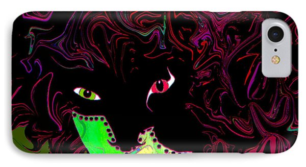 Mysterious Masquerade Phone Case by Natalie Holland