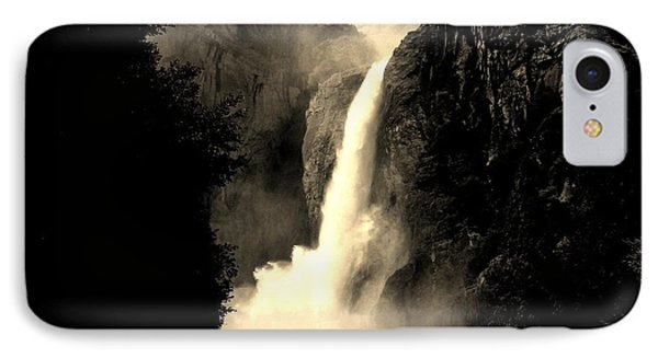 Mystery Falls IPhone Case by Ellen Heaverlo