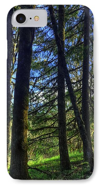Mystical Forest IPhone Case by Tyra  OBryant