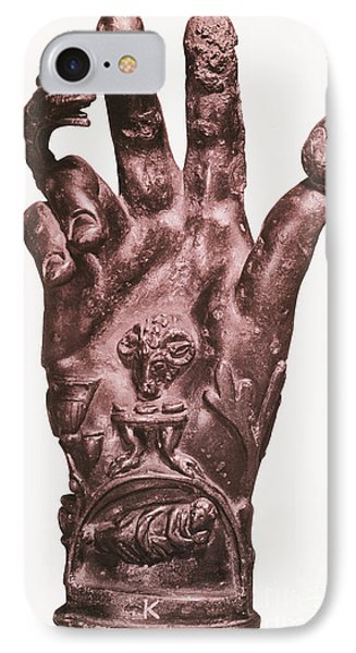 Mythological Hand Phone Case by Photo Researchers