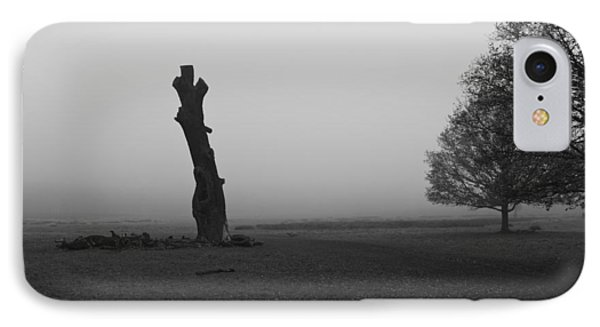 IPhone Case featuring the photograph Naked Tree by Maj Seda