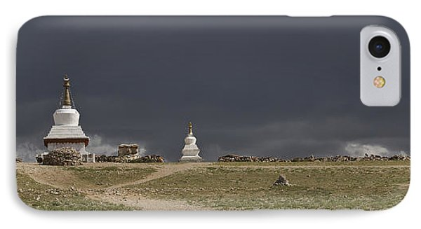 Namtso In The Nyainqentanglha Mountain IPhone Case by Phil Borges