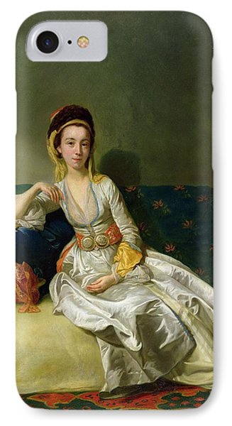 Nancy Parsons In Turkish Dress IPhone Case by George Willison