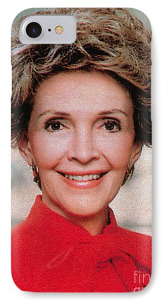Nancy Reagan, 40th First Lady Phone Case by Photo Researchers