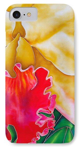 Nancy Smith Orchid Phone Case by Daniel Jean-Baptiste