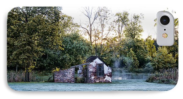 Narcissa Springhouse In Fall Phone Case by Bill Cannon