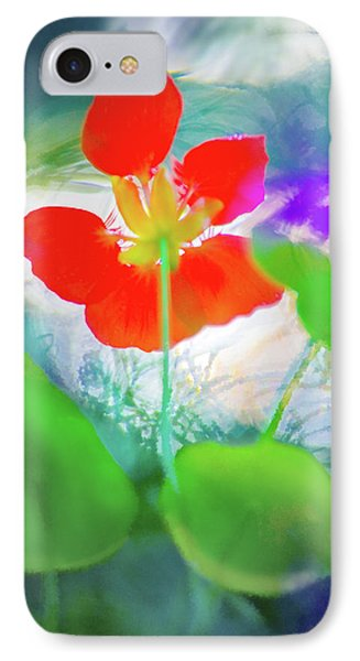IPhone Case featuring the photograph Nasturtium by Richard Piper