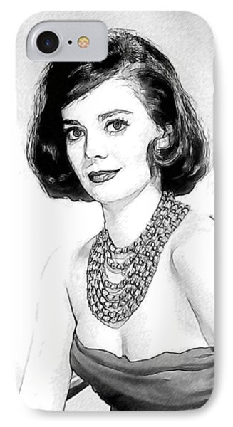 Natalie Wood 05 Phone Case by Dean Wittle