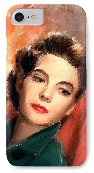 Natalie Wood Phone Case by Scott Melby