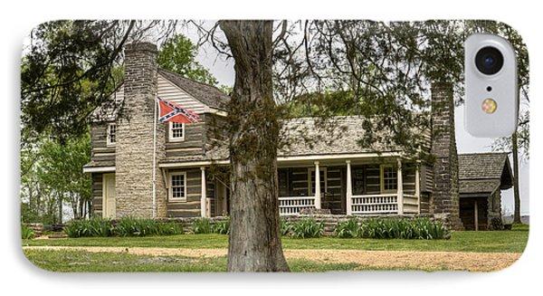 Nathan Bedford Forrest Boyhood Home 4 Phone Case by Douglas Barnett