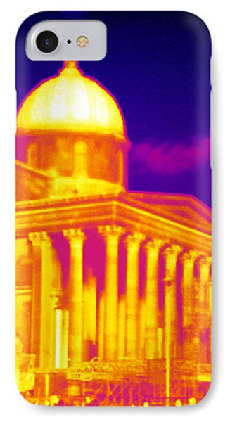 National Portrait Gallery, Thermogram IPhone Case by Tony Mcconnell