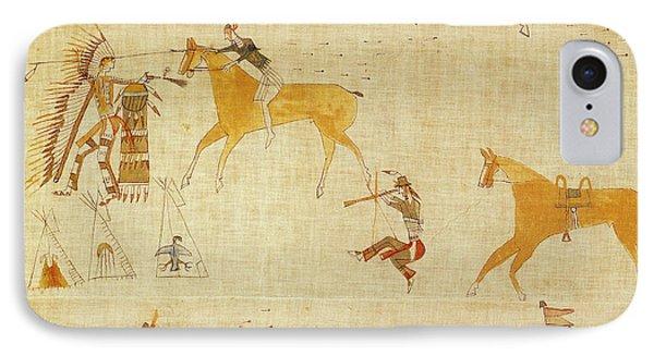 Native American Art IPhone Case