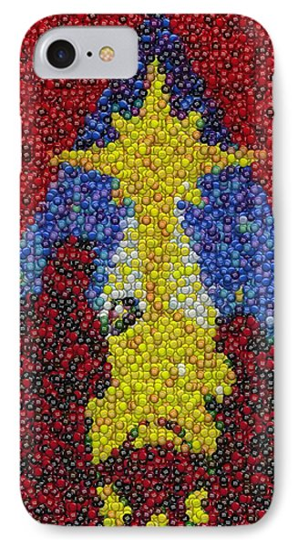 Nativity Mm Candy Mosaic Phone Case by Paul Van Scott