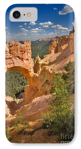 Natural Bridge In Bryce Canyon National Park Phone Case by Louise Heusinkveld