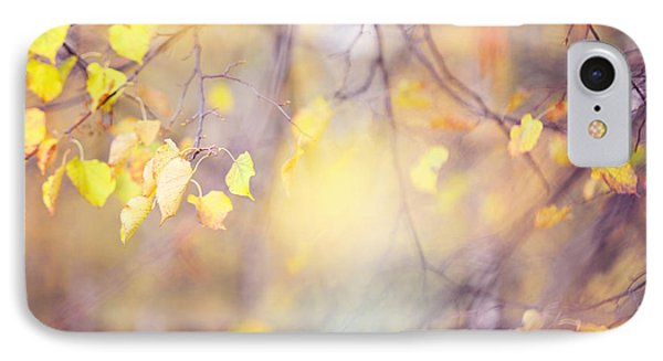 Natural Watercolor Of Autumn Phone Case by Jenny Rainbow