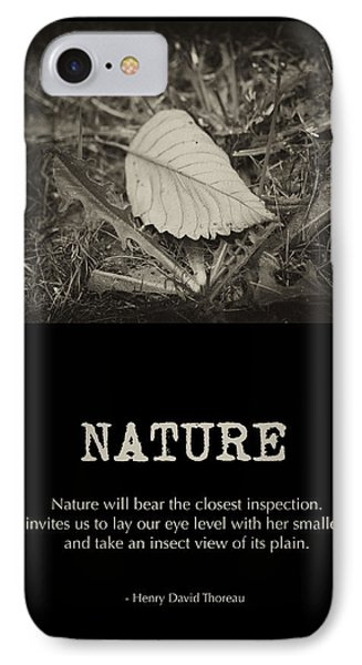 Nature IPhone Case by Bonnie Bruno