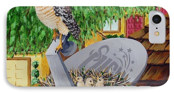 Nature Channel- Red Shouldered Hawk IPhone Case