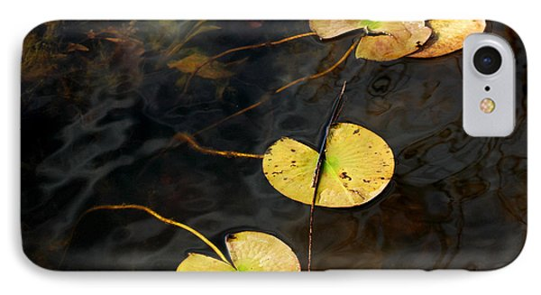 Natures Lily Pad Garden IPhone Case