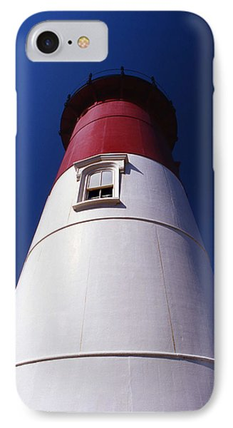 Nauset Beach Lighthouse Phone Case by Skip Willits