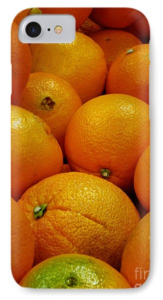 Navel Oranges Phone Case by Methune Hively