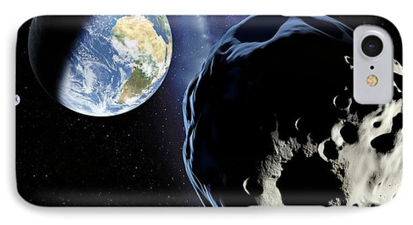 Near-earth Asteroid, Artwork Phone Case by Detlev Van Ravenswaay