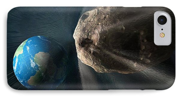 Near-earth Asteroid, Artwork Phone Case by Henning Dalhoff